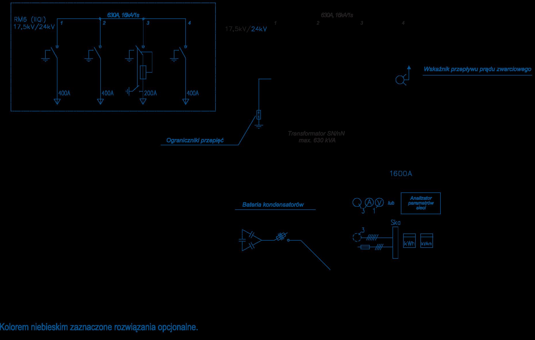 Schemat stacji BEK 250/330