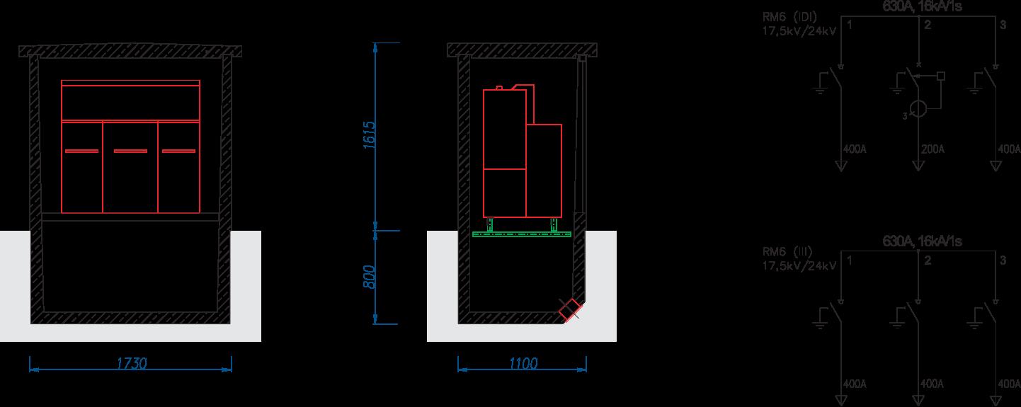 złącze kablowe SN